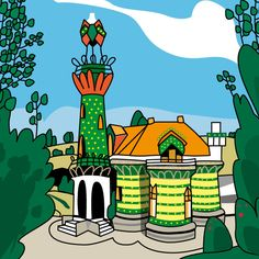 El capricho de Gaudí. Cantabria