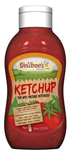 Wellbee's Honey Ketchup - Paleo & SCD Approved - No Preservatives! oz) Gluten Free & Refined Sugar Free Sweetened with honey No Preservatives Healthy Paleo Recipes, Gourmet Recipes, Paleo Ketchup, Diverticulitis Diet, Paleo For Beginners, Cooking Instructions, Convenience Food, Grain Free, Dairy Free