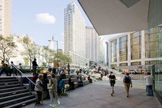 Public Spaces + Infoscape : Lincoln Center, New York | Diller Scofidio + Renfro