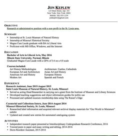 exle of independent study project resume http