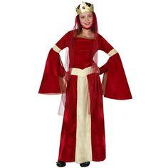 Disfraz de dama medieval infantil #disfraces #costumes #medieval