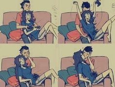 Funny pictures about Gamer Love Story. Oh, and cool pics about Gamer Love Story. Also, Gamer Love Story photos. Couple Swag, Gamer Couple, Couple Stuff, Couple Things, Couple Moments, Couple Art, Couple Photos, Couples Anime, Cute Couples