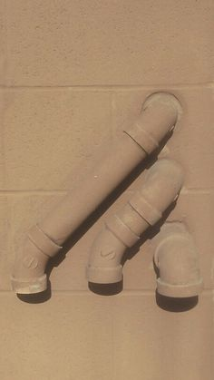 Drain pipe background.