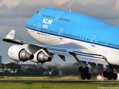 Photo uploaded on our #KLM Facebook Wall by Marcos Andres Sawade Gomis