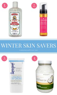 Tamera's picks for best skincare products for cold weather.