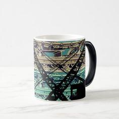 Crawler Crane Operating Engineer Tracks and Crane Magic Mug - decor gifts diy home & living cyo giftidea