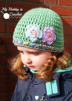 Touch of Spring Crochet Hat | AllFreeCrochet.com