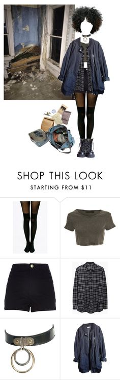 """wanna find peace of mind"" by in-gloom ❤ liked on Polyvore featuring Pretty Polly, Crafted, 6397 and Urban Outfitters"