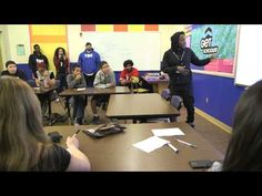 Kendrick Lamar Flows With Students at Bethel High School | Get Schooled celeb principal Kendrick Lamar raps with the students in Language Arts class at Bethel High School (in Alaska). Make the promise to graduate HS
