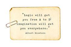 Einstein on imagination