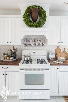 Kitchen Design With White Appliances