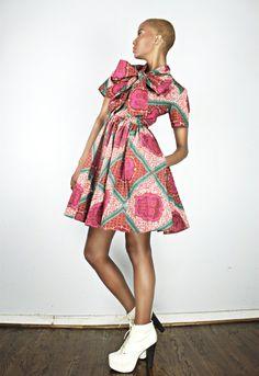 The Minnie Bell African Print  100 Holland Wax di DemestiksNewYork, $130.00