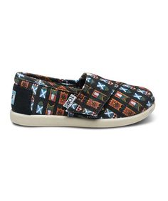 Take a look at this Red & Blue Flag Classics - Tiny by TOMS on #zulily today!