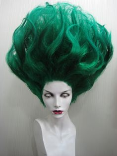 Green Wig (Reminds me of Heat Miser!)