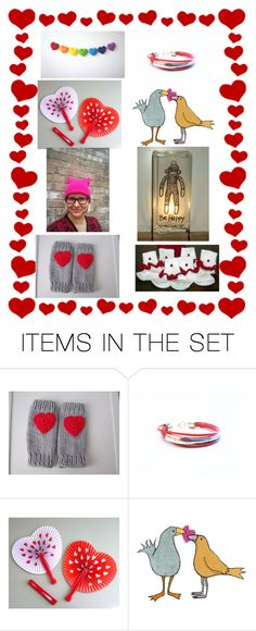 """""""Handmade Valentine Gifts"""" by glowblocks ❤ liked on Polyvore featuring art"""