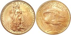 The 1927 D $20 Saint Gaudens was the third tremendous rarity in this Heritage sale and it is the key to the series. It is one of those very elusive coins that are rarely seen on the market. This one is certified by NGC as MS66 and it sold for $1,997,500. This coin was once owned by Dr. Steven Duckor who continues to amaze even the top dealers across the country with his fantastic ability to identify top quality U.S. Gold.