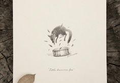 Little drummer fox