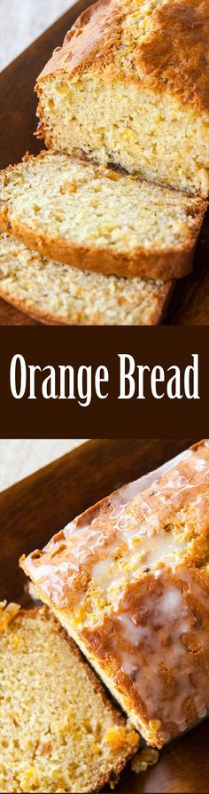 You will LOVE this quick and EASY orange loaf! With lots of orange zest and a citrusy glaze. On http://SimplyRecipes.com