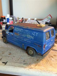 AMT Phanton Custom Van - Scale Auto Gallery - Scale Auto - Scale Auto Community