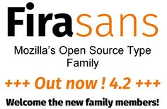 Fresh Free Font Of The Day : Fira Sans 4.2