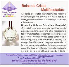 Escola Portuguesa de Feng Shui: BOLAS DE CRISTAL MULTIFACETADO Mais