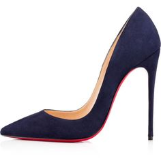 Women Shoes ($675) ❤ liked on Polyvore featuring shoes, pumps, heels, christian louboutin, louboutin, suede pumps, suede shoes, suede leather shoes, christian louboutin pumps and heel pump