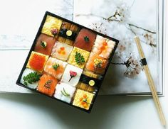 The latest food art which conquers the internet is the mosaic sushi. Users from…