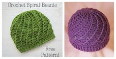 Slouchy Spiral Hat Free Crochet Pattern is surprisingly straight forward and very easy to create. It works up quickly in all double crochet stitches.