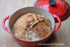 Pane in pentola, ricetta senza impasto
