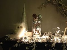 decoration for christmas in silver and white | Silver white christmas decor