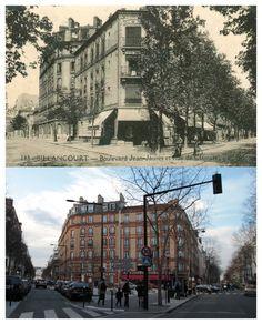 Rue de Clamart - Boulevard Jean Jaurès. La Rue de mon école (de Clamart)