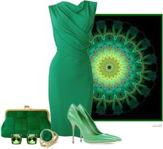 """""""Emerald"""" by christa72 ❤ liked on Polyvore"""