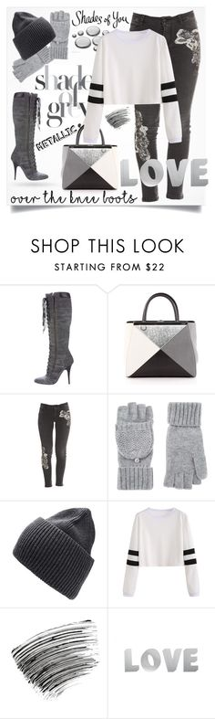 """""""Shady Lady"""" by hayr0se ❤ liked on Polyvore featuring Giuseppe Zanotti, Fendi, Ermanno Scervino, Accessorize, Witchery and Bobbi Brown Cosmetics"""