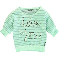 Tumble 'n Dry - girls hi striped sweater