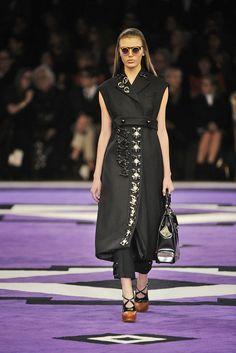 Prada --- I love this long sleeveless coat...so amazing!