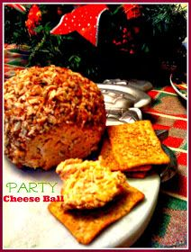 Sweet Tea and Cornbread: Party Cheese Ball!