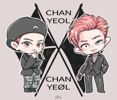 Discovered by Sally🌸. Find images and videos about kpop, art and exo on We Heart It - the app to get lost in what you love. Chanbaek Fanart, Kpop Fanart, Exo Chanbaek, Kpop Exo, Chibi, K Pop, Exo Cartoon, Exo Music, Exo Anime