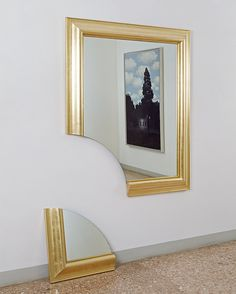 Michelangelo Pistoletto - Broken Mirror (Specchio spezzato). 1978
