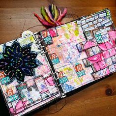 A blog about mixed media, art journaling & pocket scrapbooking.
