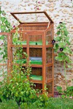 1000 ideas about serre de balcon on pinterest greenhouses une serre and composteur bois. Black Bedroom Furniture Sets. Home Design Ideas