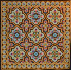 Quilt Odyssey - MAJESTIC MOSAIC BY KAREN KAY BUCKLEY AND RENAE HADDADIN, CARLISLE, PA