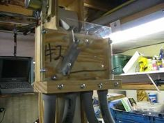 RBS marble lift V2.1 with manual 4 way sorter - YouTube