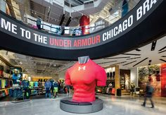 Under Armour Unveils Chicago Brand House Store Concept - Design Retail