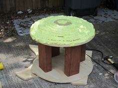 how to make a pommel mushroom