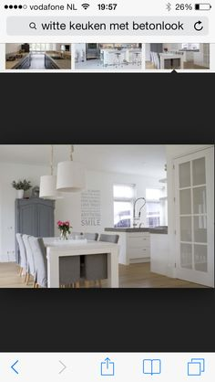 Interieur idee n keukens eetkamer on pinterest for Interieur ideeen keuken