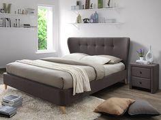Łóżko Sinela 160×200 – brąz Furniture, Home Decor, Decoration Home, Room Decor, Home Furnishings, Home Interior Design, Home Decoration, Interior Design, Arredamento