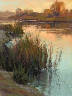 Tranquil Waters by Kim Lordier Pastel ~ 12 x 9