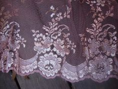 "65"" Wide Dusty Rose Gold Lace Fabric Victorian Style Lace Flapper Dress Pink Lace Fabric Gold Metallic Lace 125"