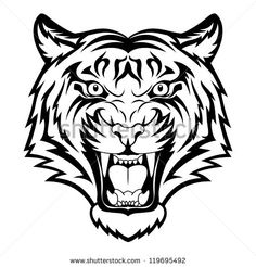 Image from http://thumb9.shutterstock.com/display_pic_with_logo/1007966/119695492/stock-vector-tiger-anger-black-tattoo-vector-illustration-of-a-tiger-head-119695492.jpg.