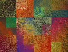 Wild thing. Jan Myers Newbury. 2008. Quilt, shibori